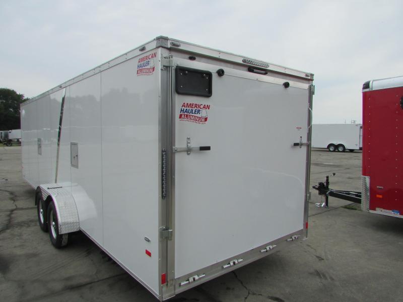 2018 American Hauler Industries 7 X 29 Snowmobile Enclosed Cargo Trailer