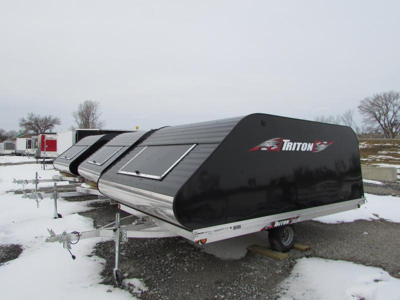 2018 Triton Trailers XT 12 Tlt Style Snowmobile Trailer