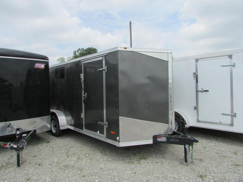 2018 RC Trailers 7 X 18 Double Door Enclosed Cargo Trailer