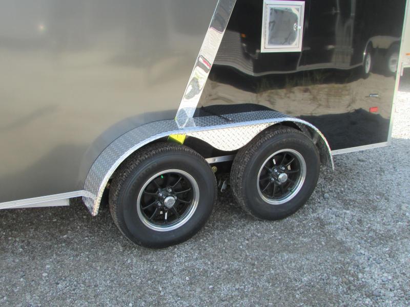 2018 American Hauler Industries 7 X 19 Snowmobile Enclosed Cargo Trailer