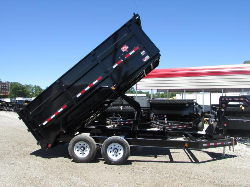 2019 PJ Trailers 14 Dump Trailer w/High Sides Dump Trailer in Ashburn, VA