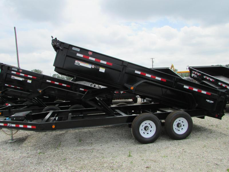 2020 PJ Trailers 16 ft Low Profile Dump Trailer