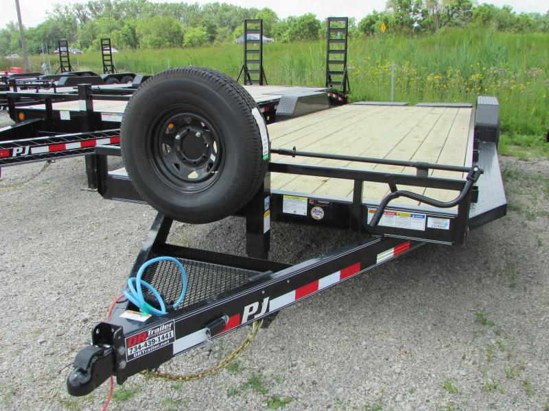 2020 PJ Trailers 24 ft Moster Ramp Equipment Trailer