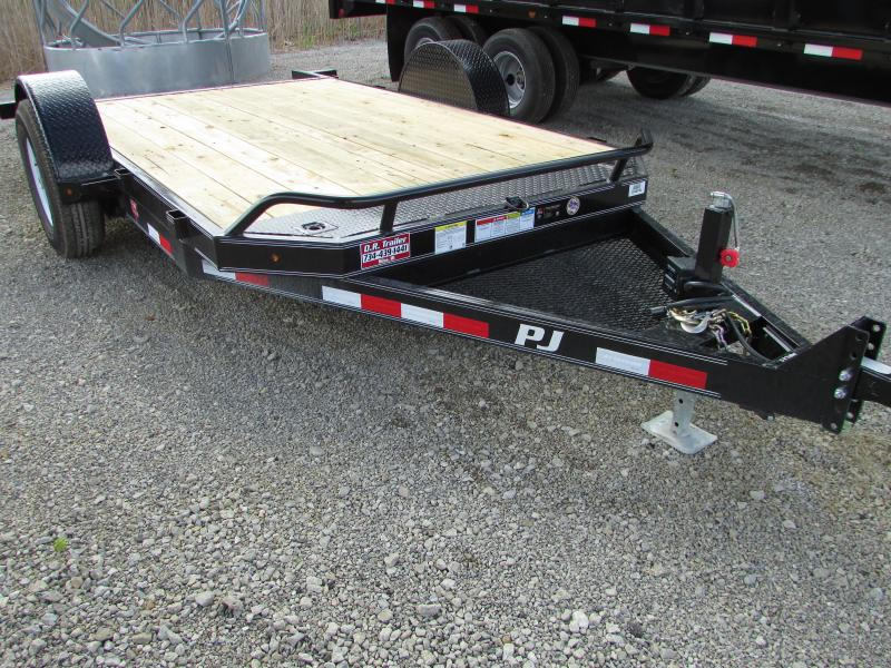 2018 PJ Trailers 13ft Tilt Equipment Trailer