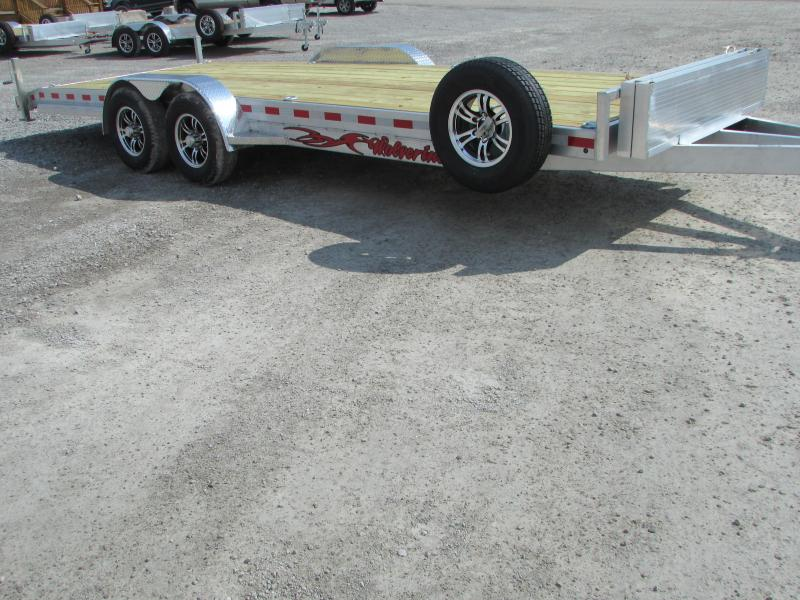 2019 Wolverine Trailers 22 Aluminum Flatbed Trailer in Ashburn, VA