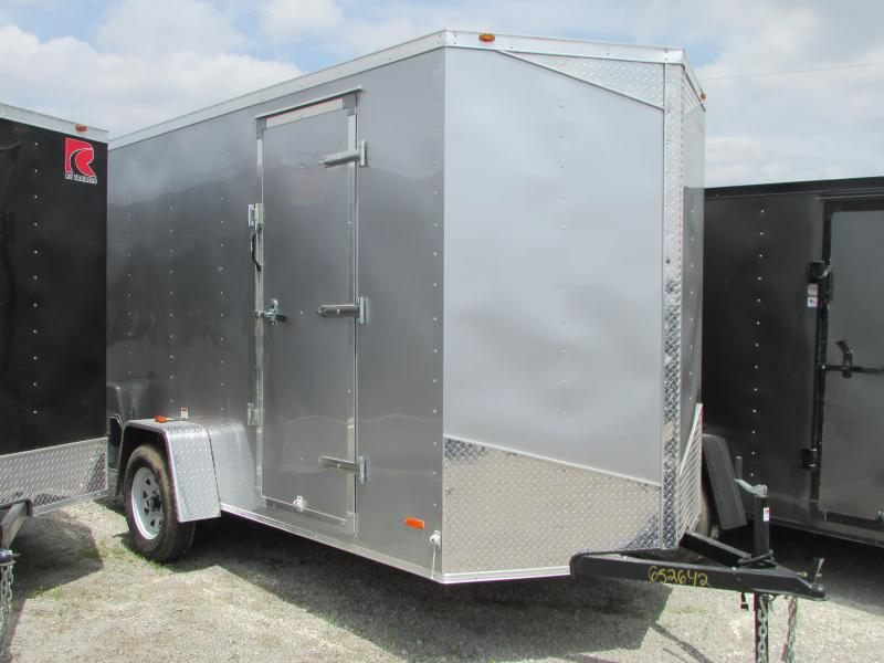 2019 RC Trailers 6 X 12 Double Doors 7' High Enclosed Cargo Trailer