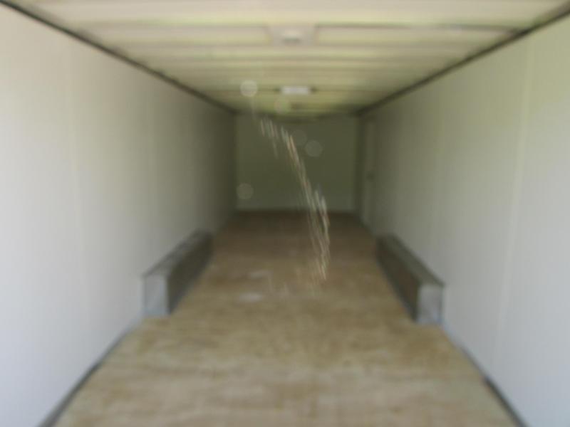 AMERICAN HAULER 24' ALUMINUM ENCLOSED CARHAULER TRAILER