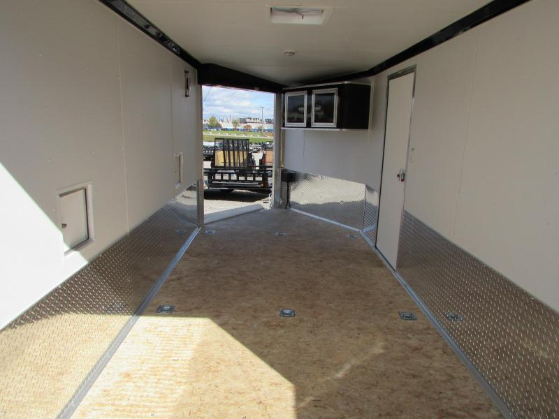 2019 American Hauler Industries 7 X 19 Snowmobile Enclosed Cargo Trailer