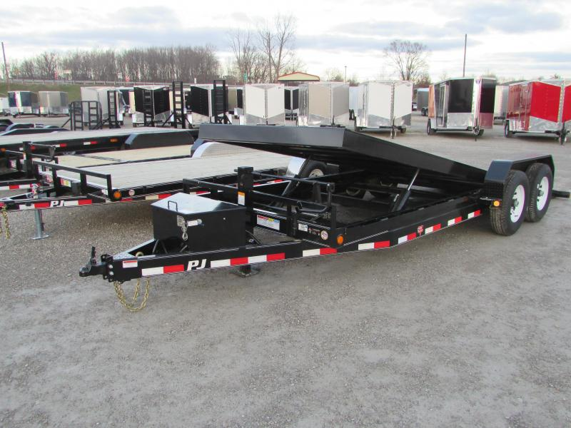 2020 PJ Trailers PJ 20 Power Tilt 14k Equipment Trailer