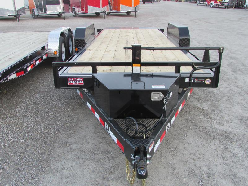 2018 PJ Trailers PJ 20 Power Tilt 14k Equipment Trailer