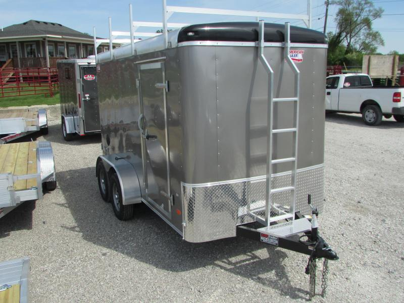 2019 American Hauler 6 x 12 Contractors Cargo / Enclosed Trailer