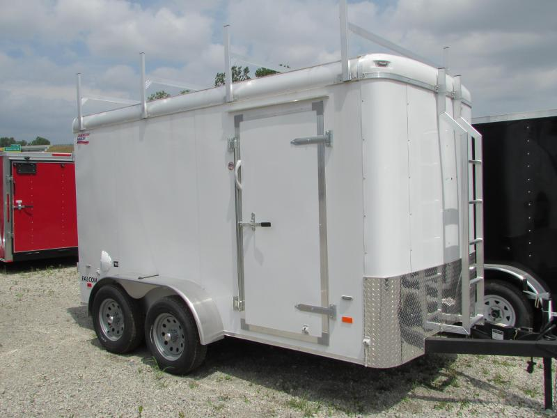 2019 American Hauler Industries 6 X 12 Contractor's Pkg. Enclosed Cargo Trailer in Ashburn, VA