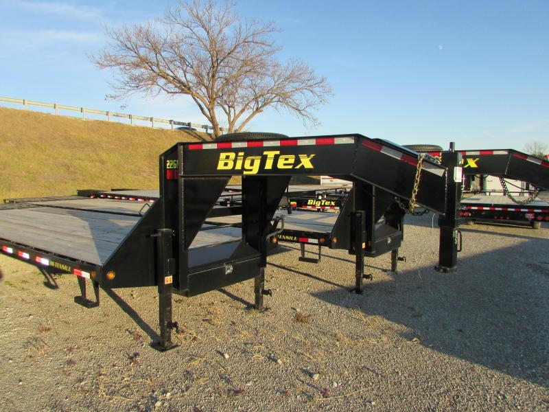 2019 Big Tex Trailers 35 Flatbed Gooseneck Trailer