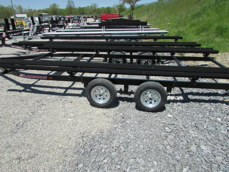 2019 Wolverine Trailers 24 Bunk Style Pontoon Boat Trailer