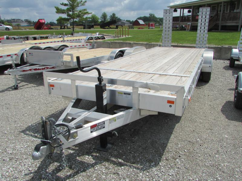 2018 American Hauler Industries 24 ft Aluminum Equipment Trailer