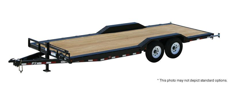 "2018 PJ Trailers 22' x 6"" Channel Super-Wide Trailer"