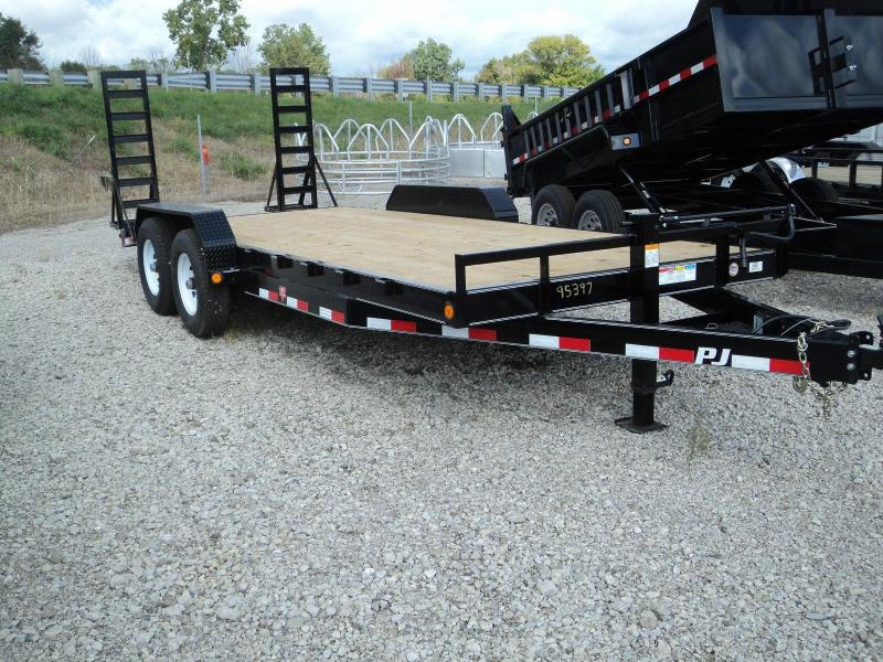 2019 PJ Trailers 20 Equipment Flatbed Trailer