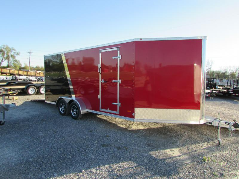 2018 RC Trailers 7 X 23 Snowmobile UTV Enclosed Cargo Trailer