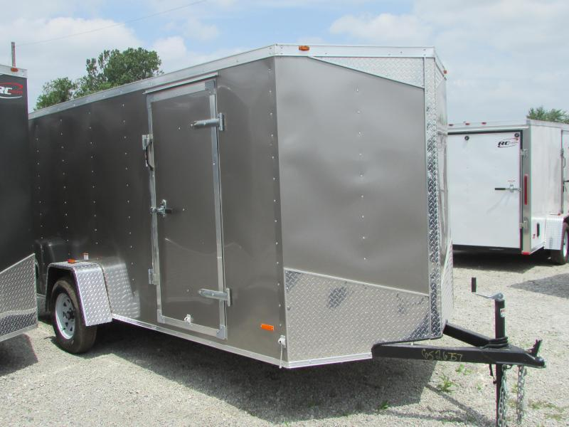 2019 RC Trailers 6 x 14 Ramp Enclosed Cargo Trailer