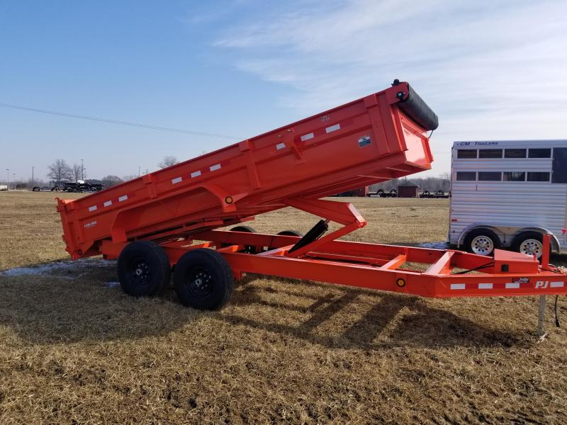 2019 PJ Trailers 16 ft Dump Trailer