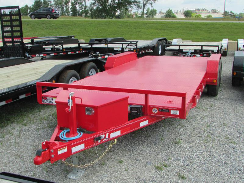 2020 PJ Trailers 20 ft Carhauler Flatbed Trailer