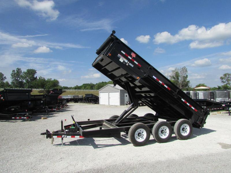 2019 PJ Trailers Tri Axle Pintle Dump Trailer in Ashburn, VA