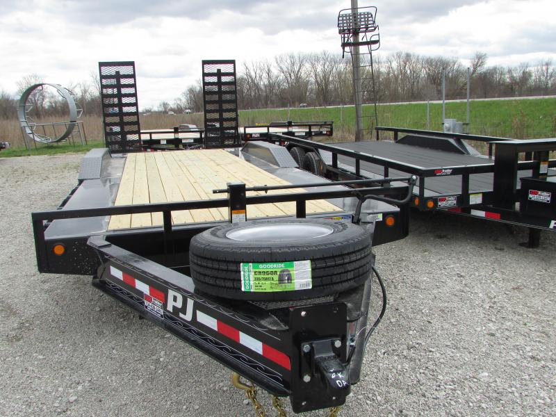 2019 PJ Trailers 22 Heavy Duty 20k Equipment Trailer