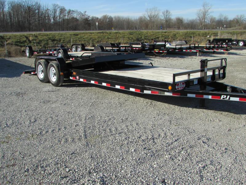 2019 PJ Trailers 24 Tilt Equipment Trailer