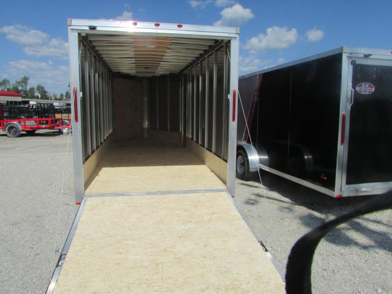 2019 RC Trailers 7 X 23 Snowmobile 7' High Enclosed Cargo Trailer