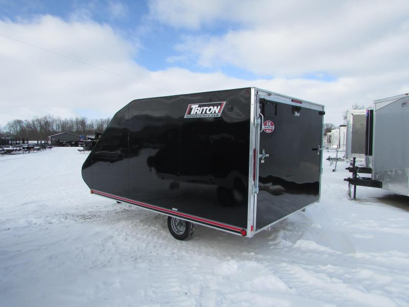 2018 Triton Trailers 12 Hybrid Snowmobile Trailer