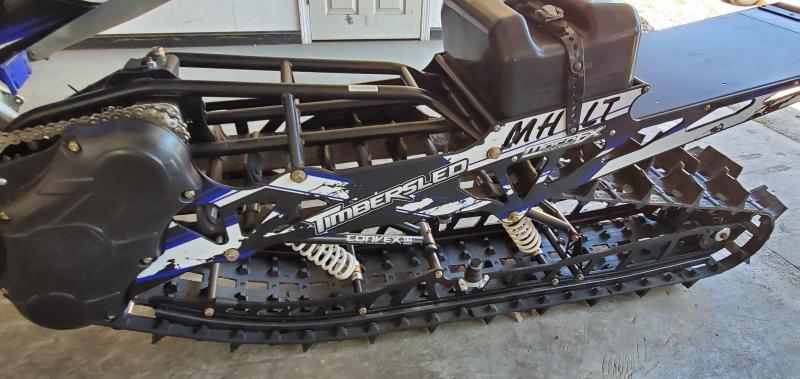 2015 Yamaha Yz450F Timbersled 137