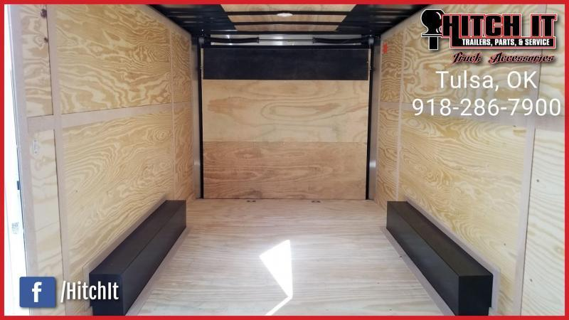 Continental Cargo 8.5 x 16 Plus V-nose Car Hauler Enclosed Trailer