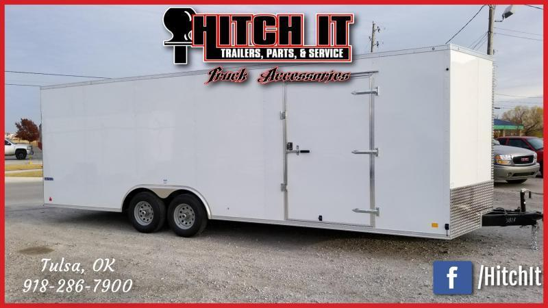 Continental Cargo 8.5 X 24 Enclosed Cargo Trailer Tandem 5200#