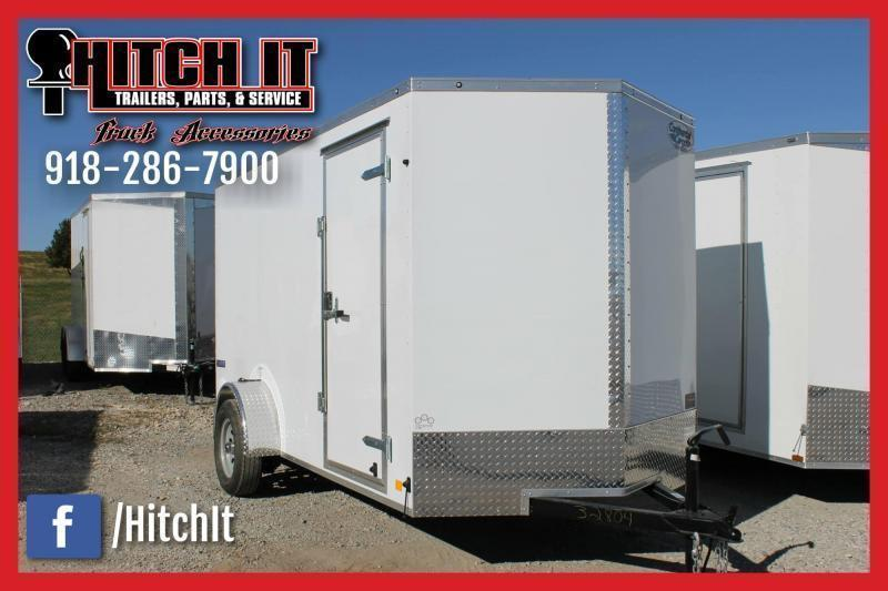 2020 CONTINENTAL CARGO 6X10SA ENCLOSED TRAILER