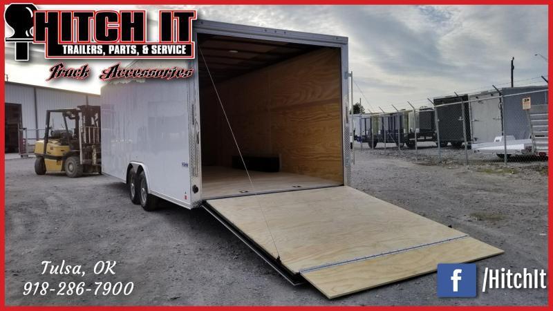 Continental Cargo 8.5 X 24 Enclosed Cargo Trailer Tandem 5200#