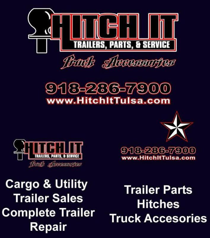 2020 Continental Cargo 7 x 18 + v-nose  Enclosed Cargo Trailer @Hitch It Trailers 61 & Hwy 169 Tulsa