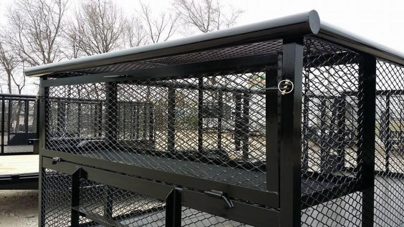 2019 Tiger 83 x 16 Landscape Trailer w/ HD TRACTOR Gate