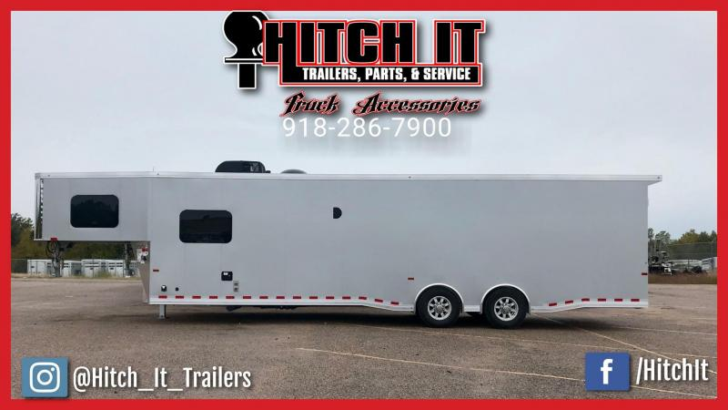 38 ft. Sundowner Gooseneck Toy Hauler Trailers 1786GM