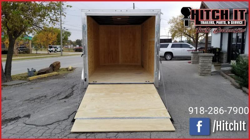 2019 Continental Cargo 7 x 14 + v-nose  Enclosed Cargo Trailer