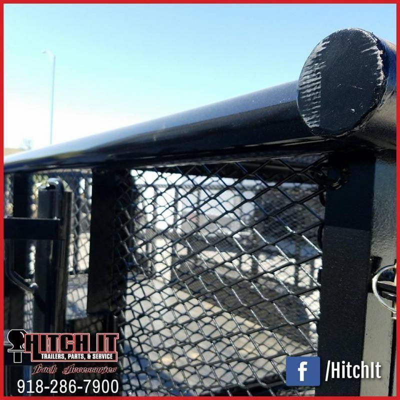 Tiger 83 x 16 Landscape Trailer w/ HD TRACTOR Gate
