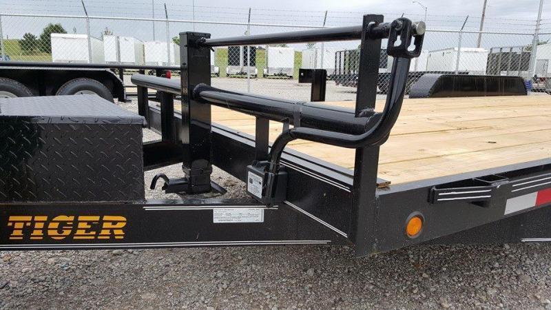 83 x 20 Car Hauler Trailer 7k axles brakes toolbox