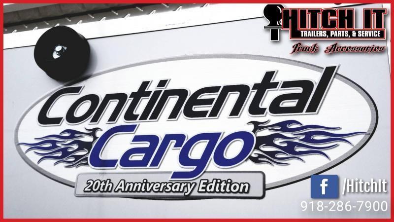 2019 Continental Cargo 6 X 12 + V-nose  Enclosed Cargo Trailer