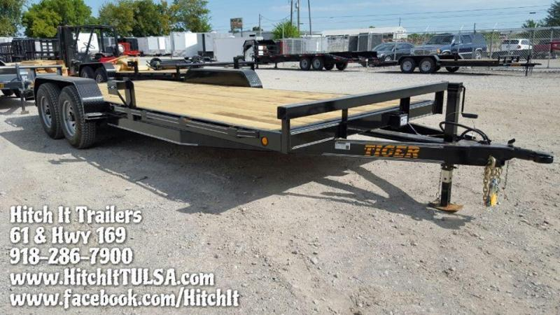 HD EQUIPMENT HAULER 83 x 20 Wood Floor Trailer 5200#