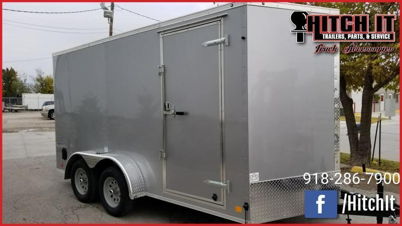 2019 Continental Cargo 7 x 16 + v-nose  Enclosed Cargo Trailer