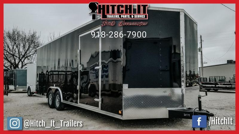 Continental Cargo 8.5 X 20 Enclosed Cargo Trailer Tandem 5200#