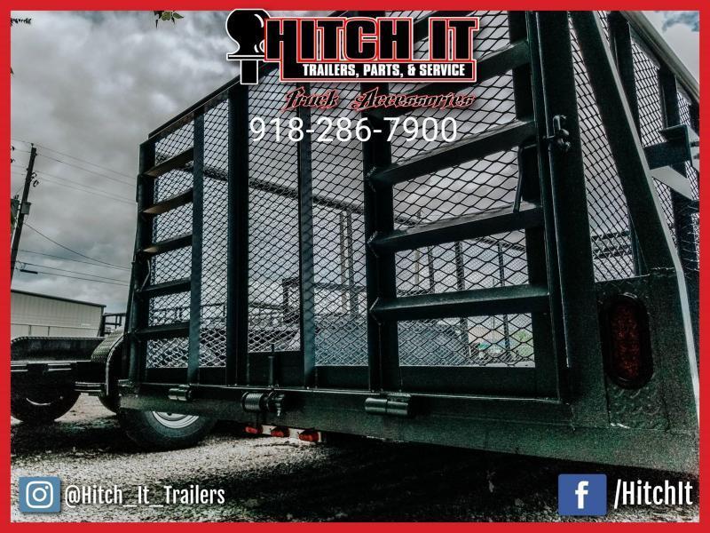 2020 Tiger 83 x 16 Landscape Trailer 5200# Axles w/ HD TRACTOR Gate