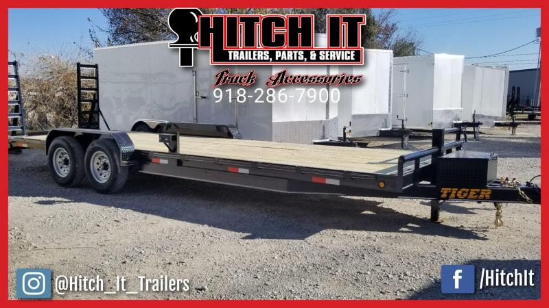2018 Tiger HEAVY DUTY 83 X 24 EQUIPMENT TRAILER Equipment Trailer