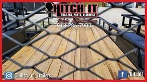 77 X 14 Charcoal Utility Trailer w/ Ramp Gate