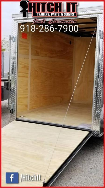 2019 Continental Cargo 6 X 10 + v-nose  Enclosed Cargo Trailer