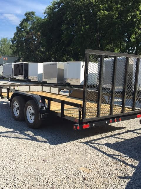 2018 Big Tex 6.5 X 16 Tandem Axle Utility Trailer